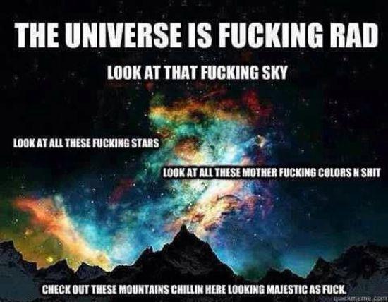 Universe lovin