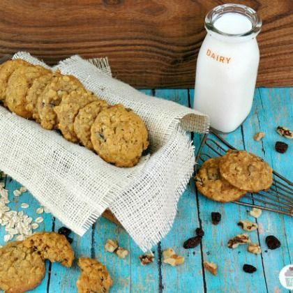 Pumpkin Oatmeal Cookies from @Spoonful
