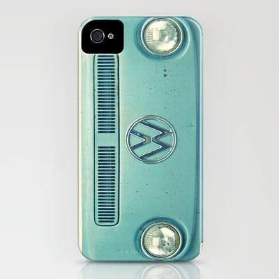 Blue VW i phone case.  :)