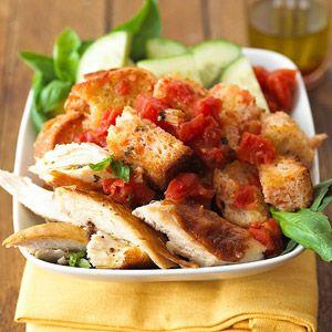 Chicken Panzanella: 30-Minute Meal