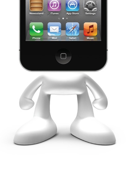 PINHEAD..A stand-up guy!   dock your iphone/ipod on this coolest dock ever!  gotta have...so I ordered it!