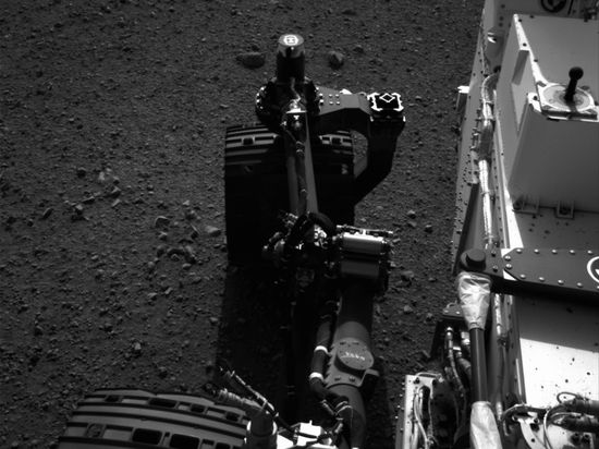 Curiosity does the Martian wiggle! cnet.co/MKqEbL