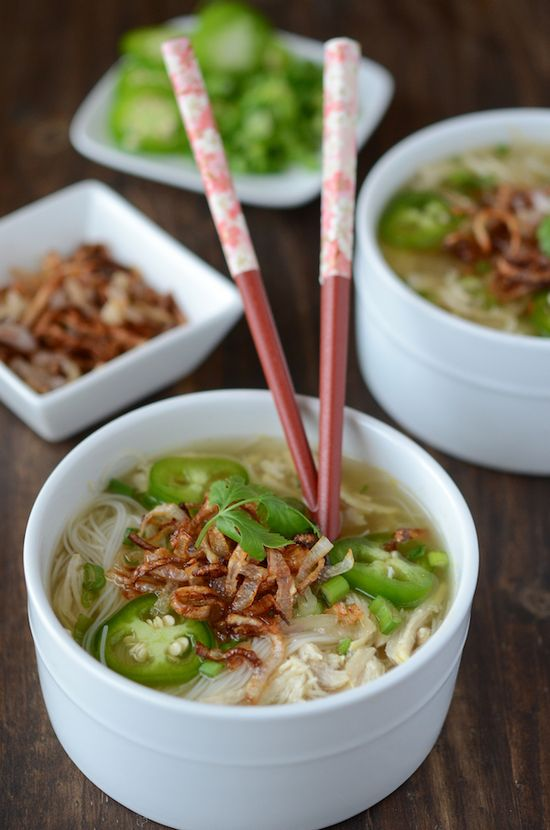 Chicken Pho from www.thenovicechef...