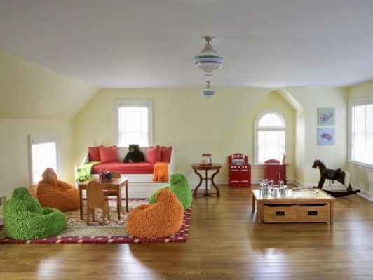 COLORFUL PLAYROOM - Home and Garden Design Ideas