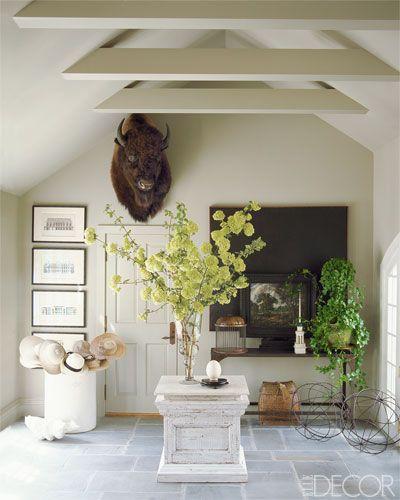 A Farmhouse Foyer
