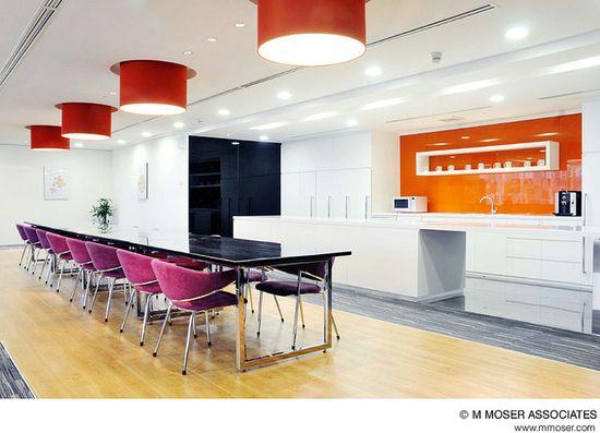 Office design by M Moser Associates by M Moser Associates