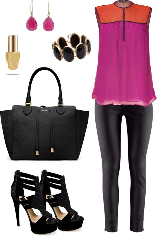 """colorsito!"" by mara-montandon ❤ liked on Polyvore"