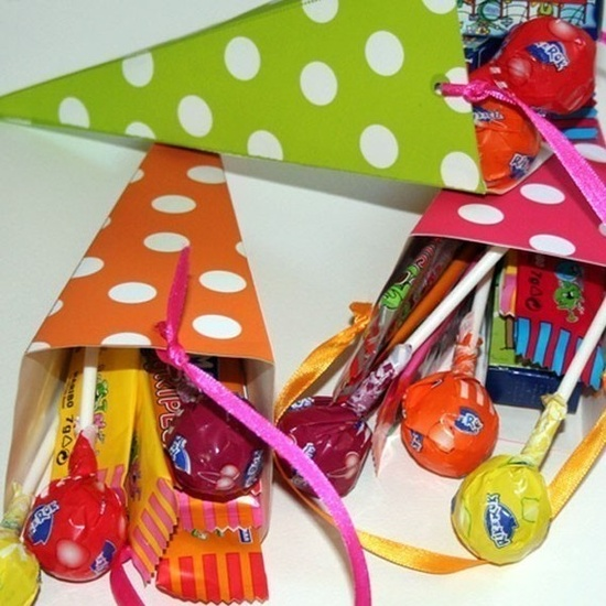 Make your own candy cone with these printable patterns...so fun!