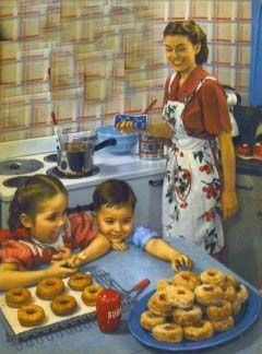 vintage life in the kitchen