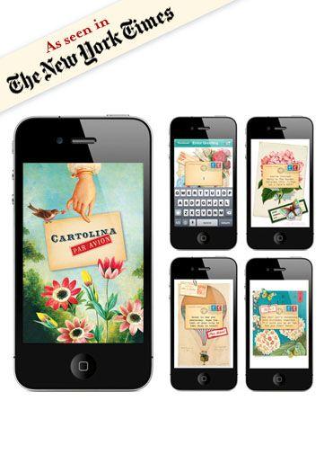 Cartolina iPhone app