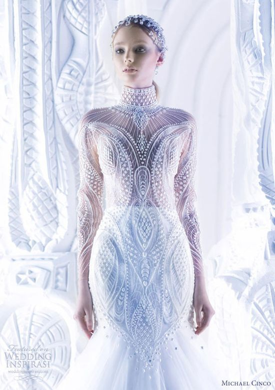 Michael Cinco Wedding Dresses Spring 2013