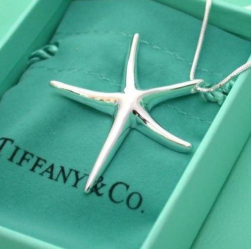 Tiffany starfish necklace - bridesmaid gift..