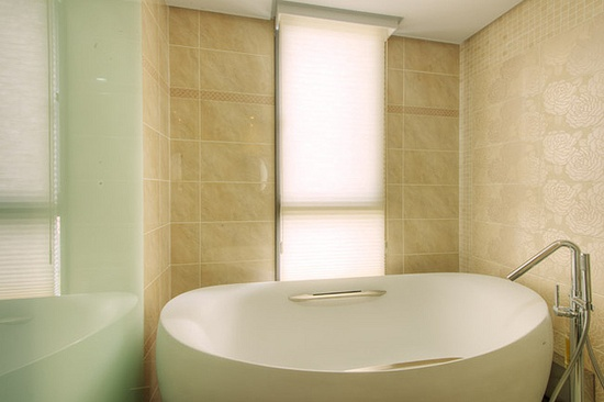 #Beautiful modern bathroom interior