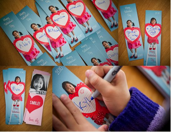 cute idea for valentines cards