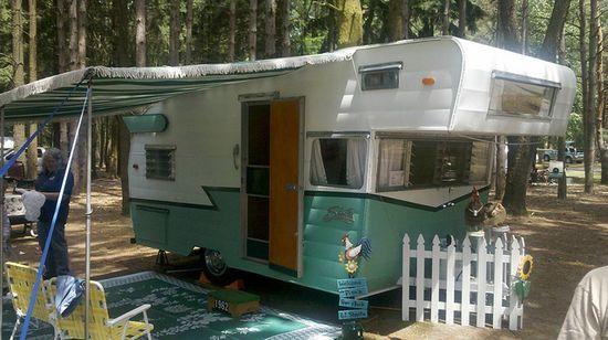 great vintage trailer