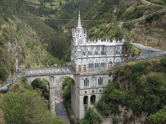 Sanctuary of our Lady of Las Lajas Nariño, Colombia