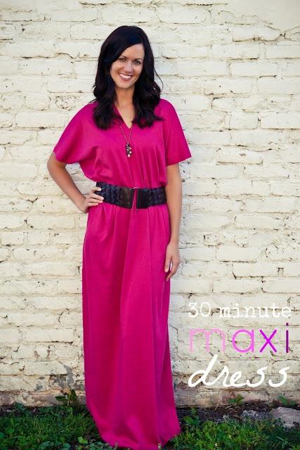 30 Minute Maxi Dress!