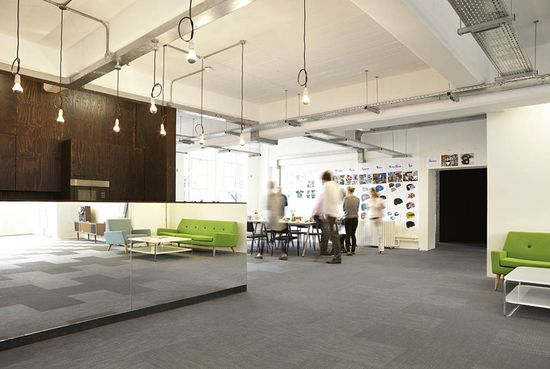 18 Feet & Rising office by Studio Octopi, London office design
