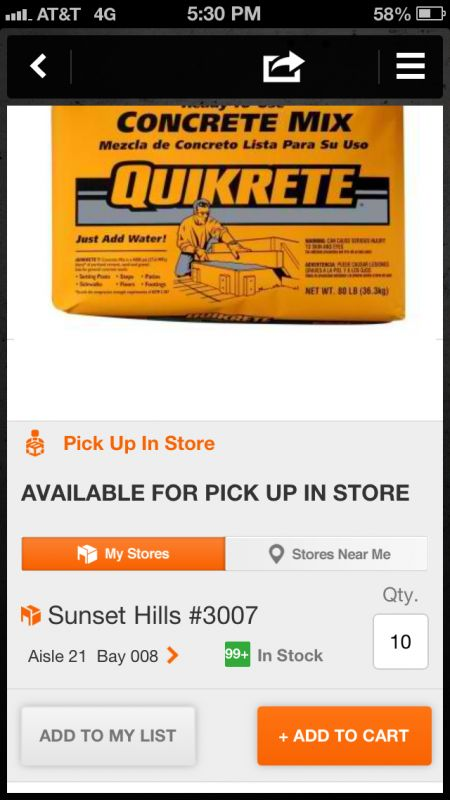 The @Home Depot Pro App #Review - checking inventory in store with @HamtilConst #HDPro