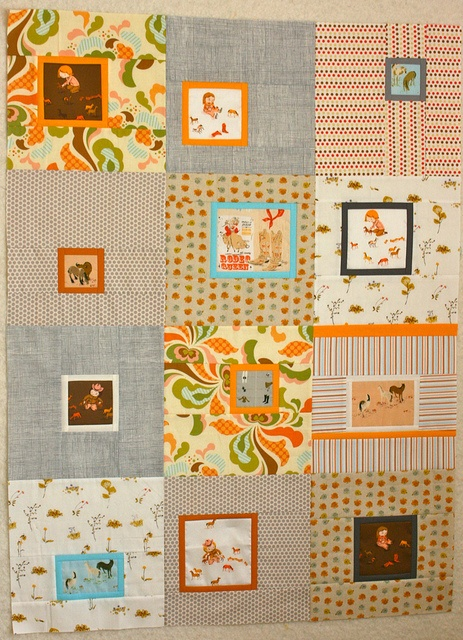 a girl who loves horses!!  -aka a quilt that would be perfect for me!