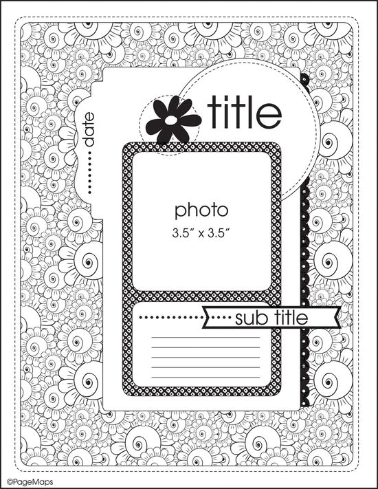 Bonus Sketches from Spring 2013 issue of Scrapbook & Cards Today - Canada's scrapbooking magazine - www.scrapbookandc...
