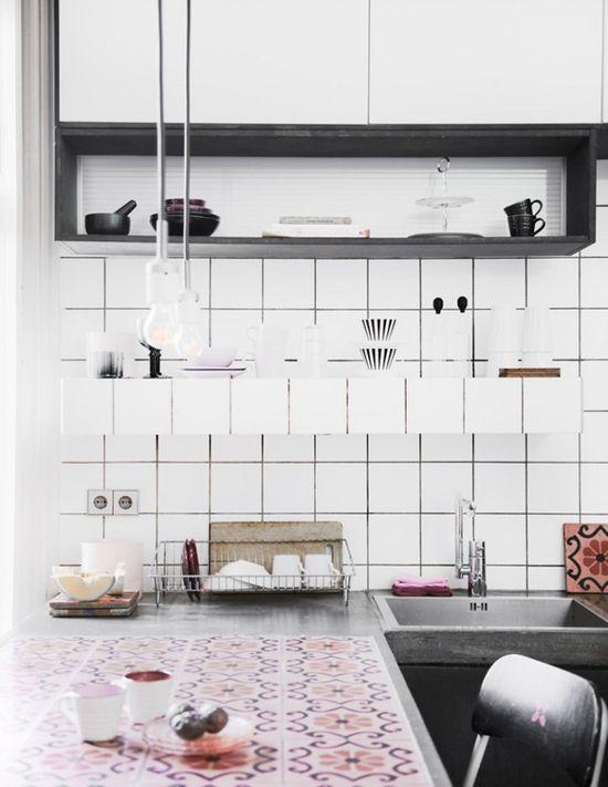 Méchant Design: just love that kitchen