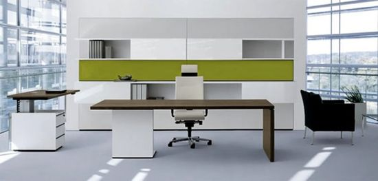 Minimalist Executive Furniture P2 for Office Interior Design by Christian Horner