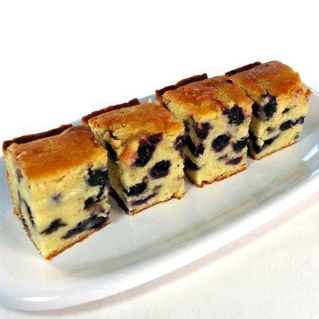 One Perfect Bite: Lemon-Glazed Blueberry Bread