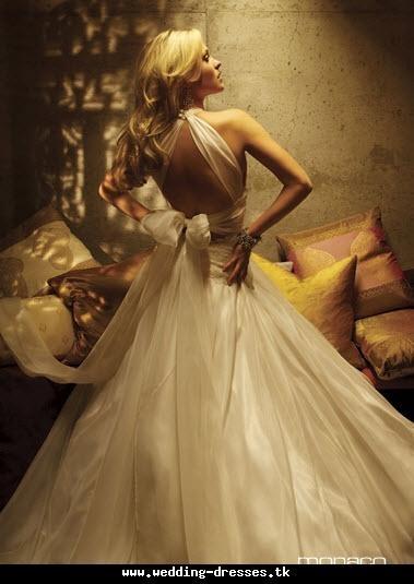 Low Back Wedding Dresses 2011