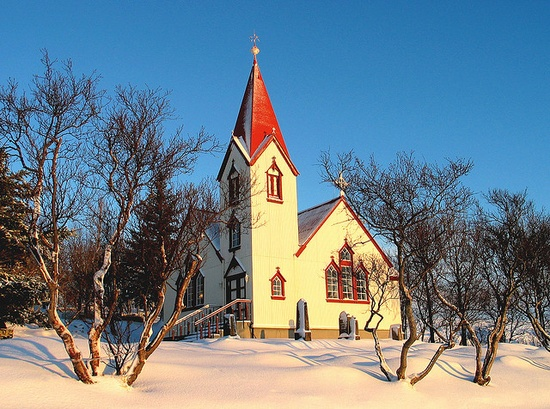 Country Church ~ Iceland