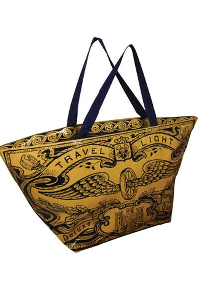 Travel Light Overnighter Tote - Unique Vintage