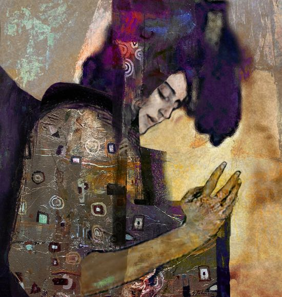 "Saatchi Online Artist: Suhair Sibai; Paint, 2012, Mixed Media ""Damascus Queen 1"""