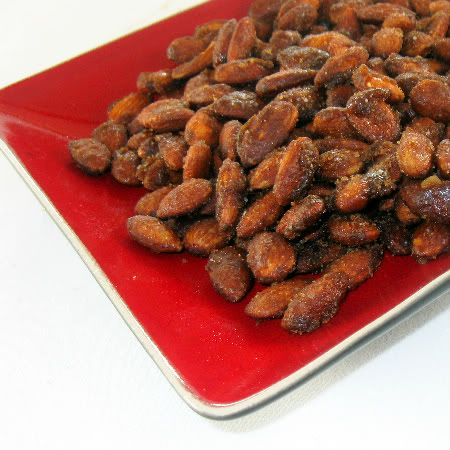 One Perfect Bite: Candied Almonds + Giveaway Winner