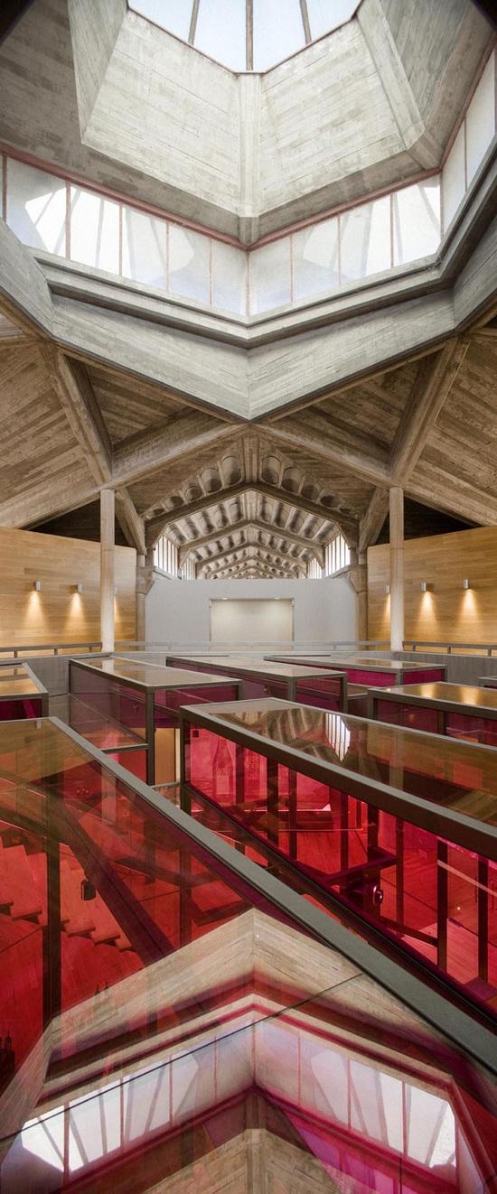 Olarra's Winery Visitor Center in Logroño, Rioja, Spain by IA+B Arkitektura