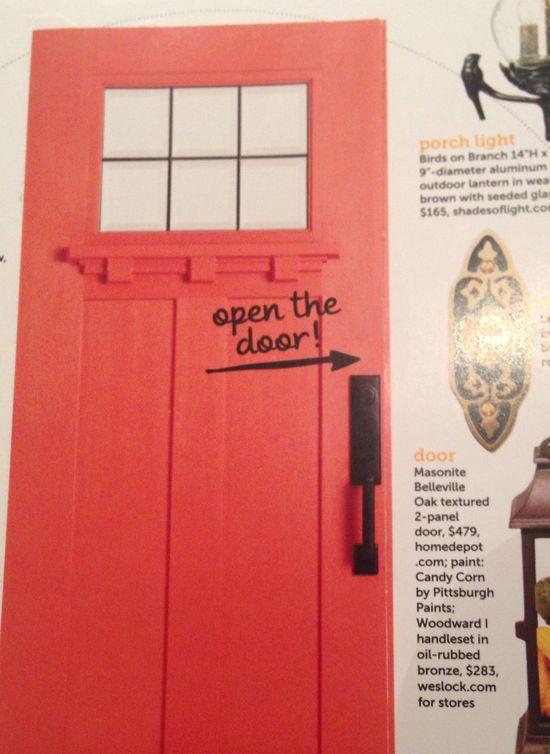 Great door from Home Depot