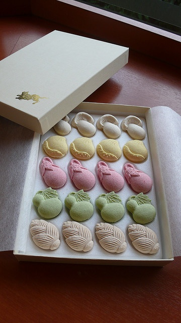 Japanese dry sweets, Higashi ???