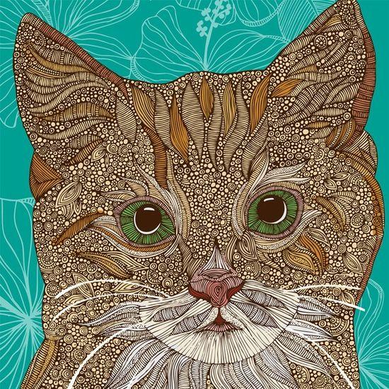 cat, art
