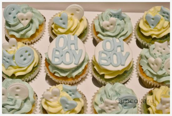 Cupcakery- Baby Boy Cupcakes