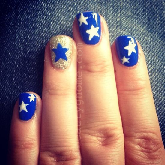 beautygnome's festive tips. Show us your 4th of July-inspired nails! Tag your pic #SephoraNailspotting to be featured on our social sites.