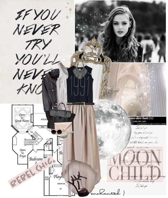 """Take me to the magic of the moment On a glory night Where the children of tomorrow dream away in the wind of change"" by peppa19-7 on Polyvore"