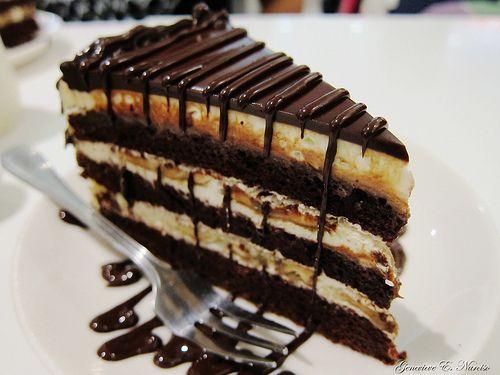 #chocolate #caramel #cake