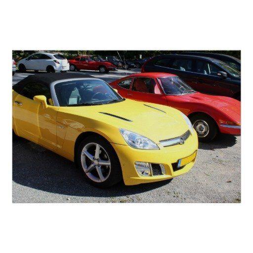 Opel GT Classic Sports Cars  #photo