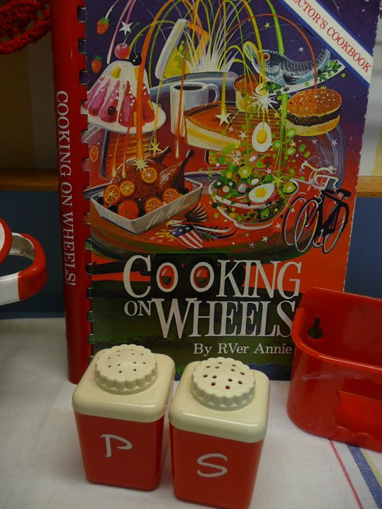 Vintage Travel Trailer Cookbook Entitled by NewLIfeVintageRVs, $14.00