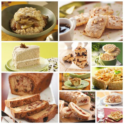Cinnamon Recipes from Taste of Home  #rolls  #bread  #cookies  #cheesecake  #cake