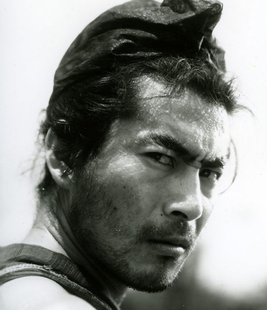 "Toshirô Mifune in ""Rashômon"" (Akira Kurosawa 1950)"