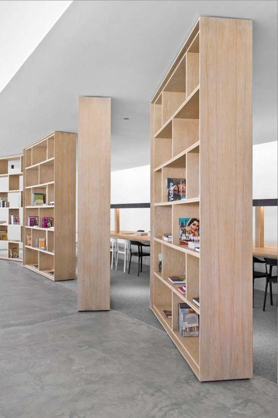 The Pavilion Synopsis / Studio M Rotating Shelves
