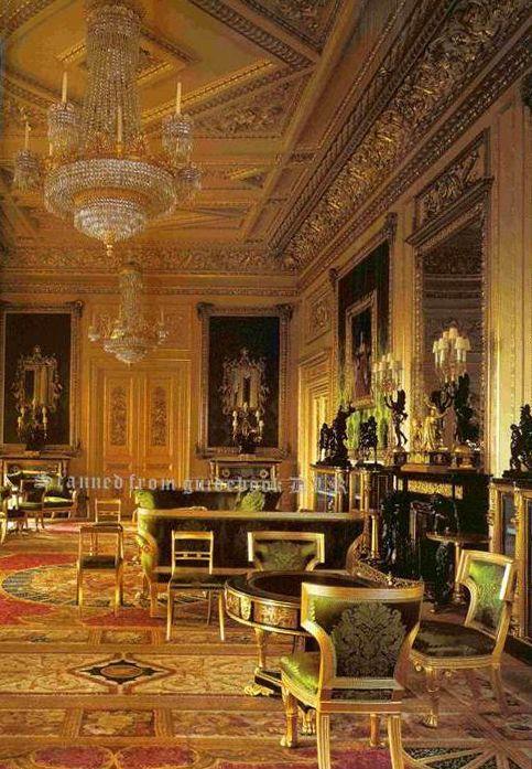 Green Drawing Room Windsor Castle