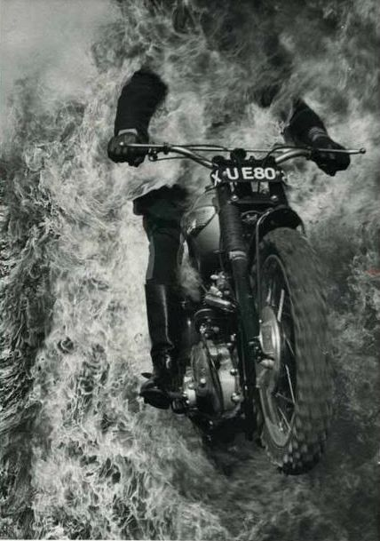 Black & White Photography, Motorcycles