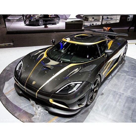 "Koenigsegg's 100th car the almighty ""Hundra"" Looks amazing!"