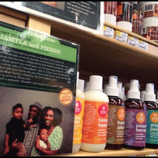 Oyin Handmade Launched at Whole Foods Market, Harbor East